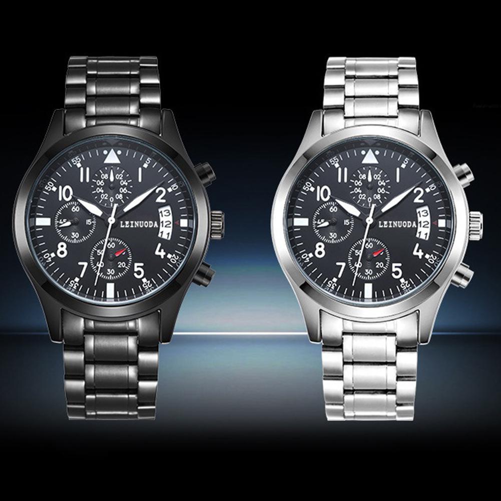 лучшая цена LinTimes Men Outdoor Luminous Quartz Watch with Calendar Thin Pointer Sports Wristwatch Ornament Gift