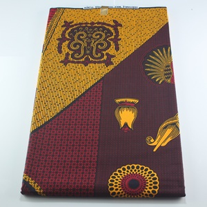 Image 3 - veritable wax guaranteed real wax high quality pagne 6yard african ankara sewing fabric