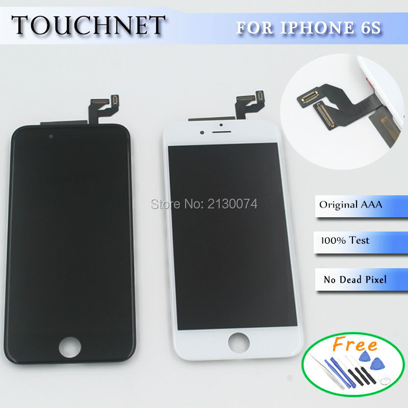 Fast Shipping And Top Quality Digitizer Touch Screen LCDs Display Frame Assembly Replacement For iPhone 6s