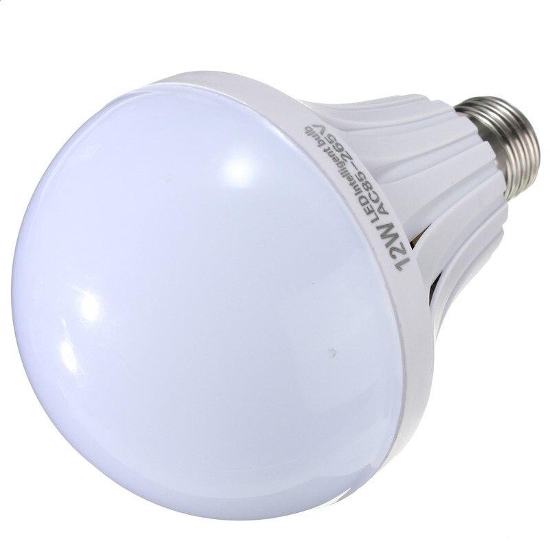 LED Light Bulb E27 5W 7W 9W 12W Energy Saving Globe Lamp Emergency Lighting Pure White Spotlight Bulb Lampada AC85-265V