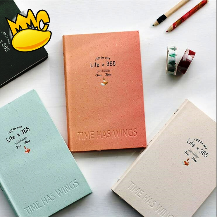 Life 365 Planner Agenda Scheduler Any Year Cute Diary Monthly Weekly Pocket Journal Notebook Study School Memo floral flamingo theme creative 2018 weekly planner band journal notebook 13 9 19 4cm korean fashion scheduler 192p free shipping