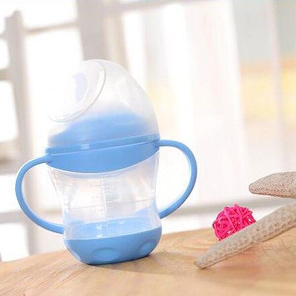 BPA Percuma! 100% Makanan Gred PP 160ml Leakproof Baby Sippy Cups - Memakan kanak-kanak - Foto 2
