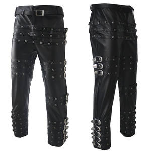 Pants Trousers Performance Jackson-Punk-Rock Classic MJ Michael 25-37size Chaparajos