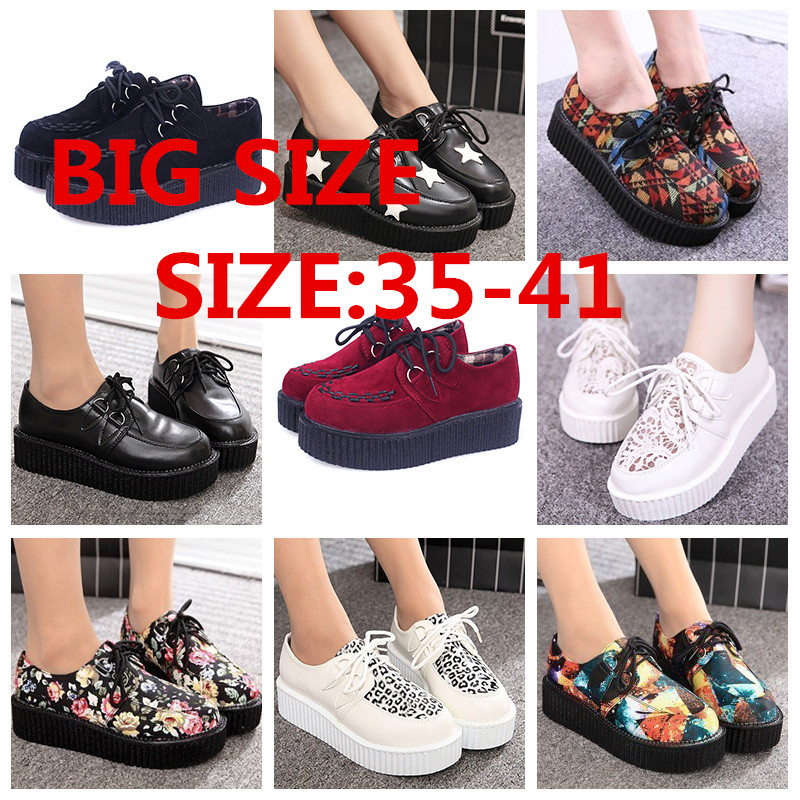 Popular Creepers Platform Shoes-Buy Cheap Creepers Platform Shoes ...