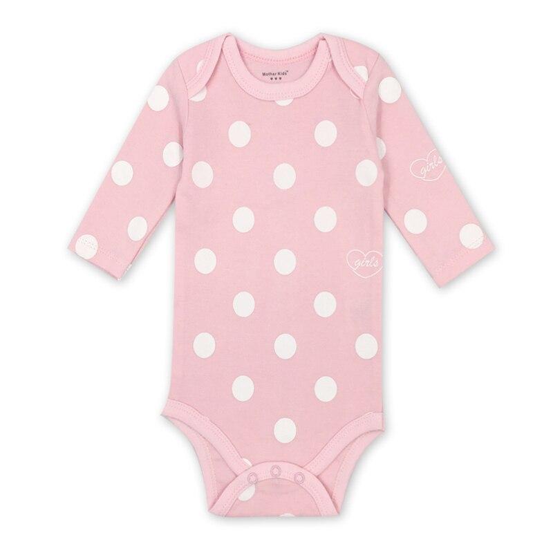 Newborn Bodysuit Babies Baby Boys Girls Clothes Lovely Cartoon  Print 100%cotton  Long Sleeve Infant Bodysuits