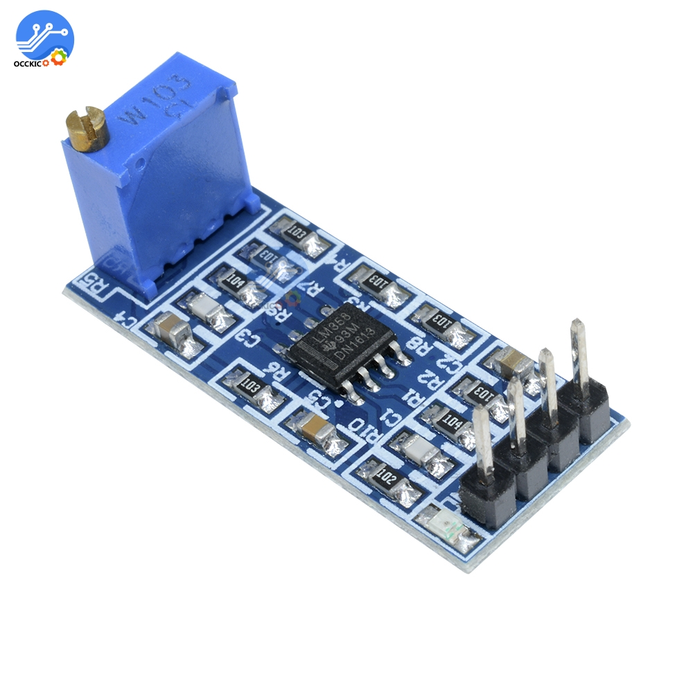 LM358 100 Times Gain Amplification Module Operational Amplifier Sound Speaker Signal Amplification Amplifier Board