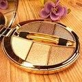 6 colores flash diamante sombra de ojos paleta de maquillaje nude impermeable luminoso brillo cosméticos herramientas de maquillaje de ojos
