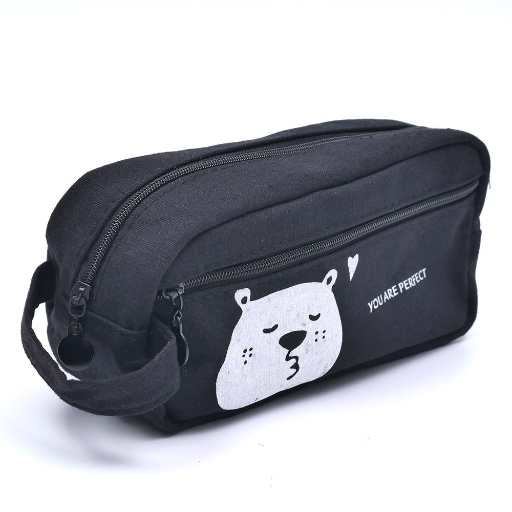 High Quality New Fashion Cute Lovely Pencil Good Case Pouch Stationary Office School Supplies Makeup Bag