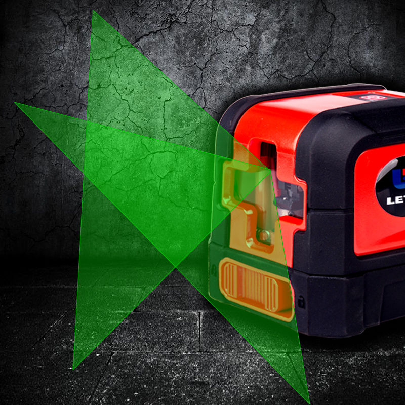 NEW LETER Mini Style Self-Leveling Laser Level Cross Line With Light Source