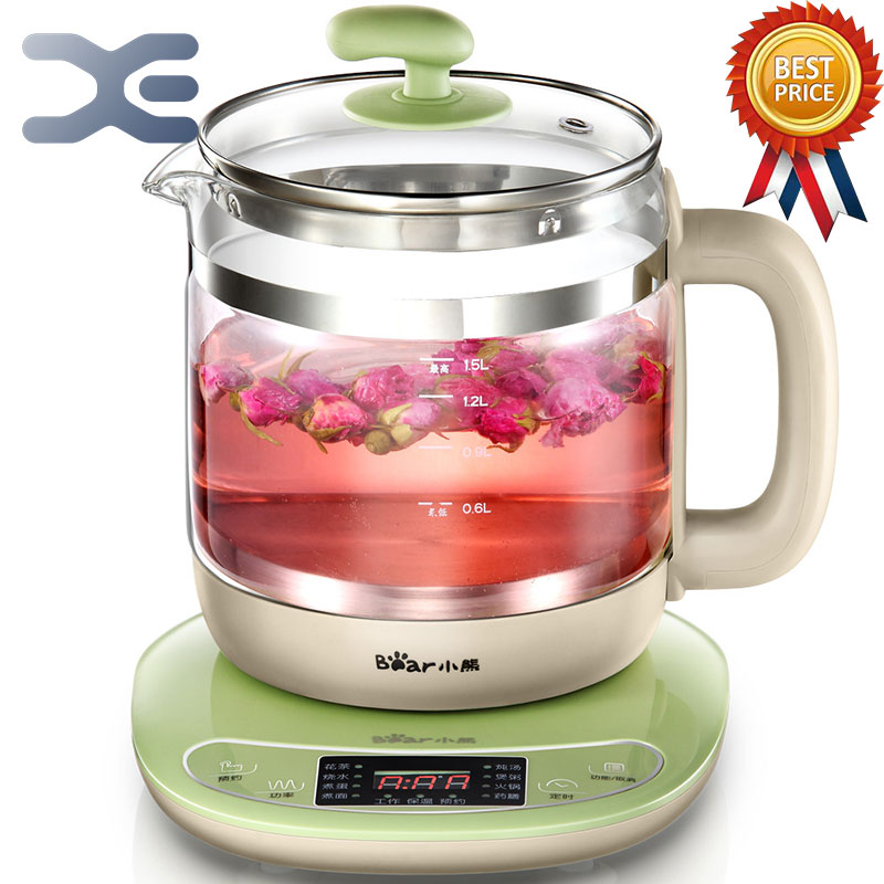 Appointment Timing Kettle High Quality 1.5L Kettle Electric Glass Electric Cooking Pot Multifunction