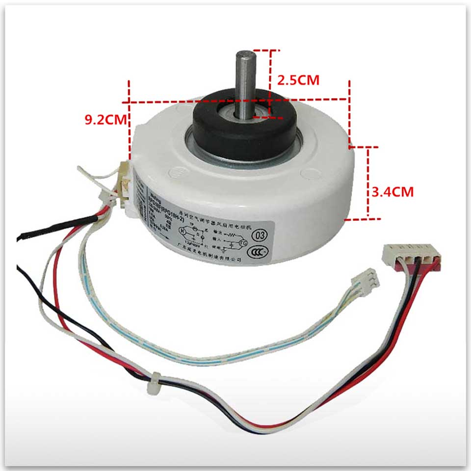 New for Air conditioning Stepper motor RPG13C RPG18F RPG18H-2 RPG18F(RPG18H-2) Synchronous scavenging motor good working new good working for air conditioner inner machine motor rpg13c rpg18f rpg18h 2 motor fan