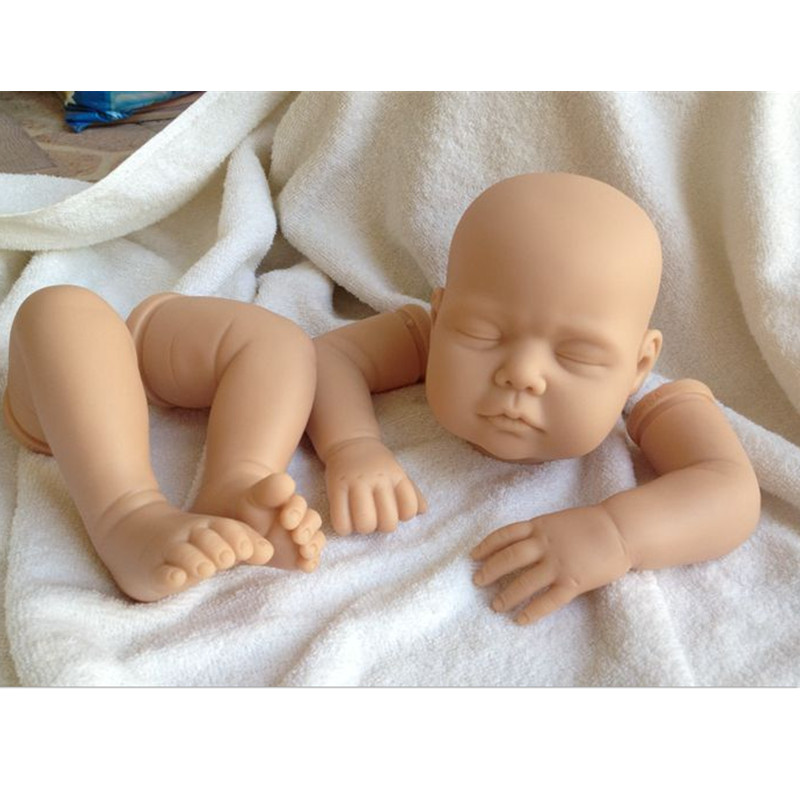 Reborn Doll Kits for 22inches Soft Vinyl Reborn Baby Dolls Accessories for DIY Realistic Toys for DIY Reborn Dolls Kits#OT-5 good price reborn baby doll kits for 17 baby doll made by soft vinyl real touch 3 4 limbs unpainted blank doll diy reborn doll
