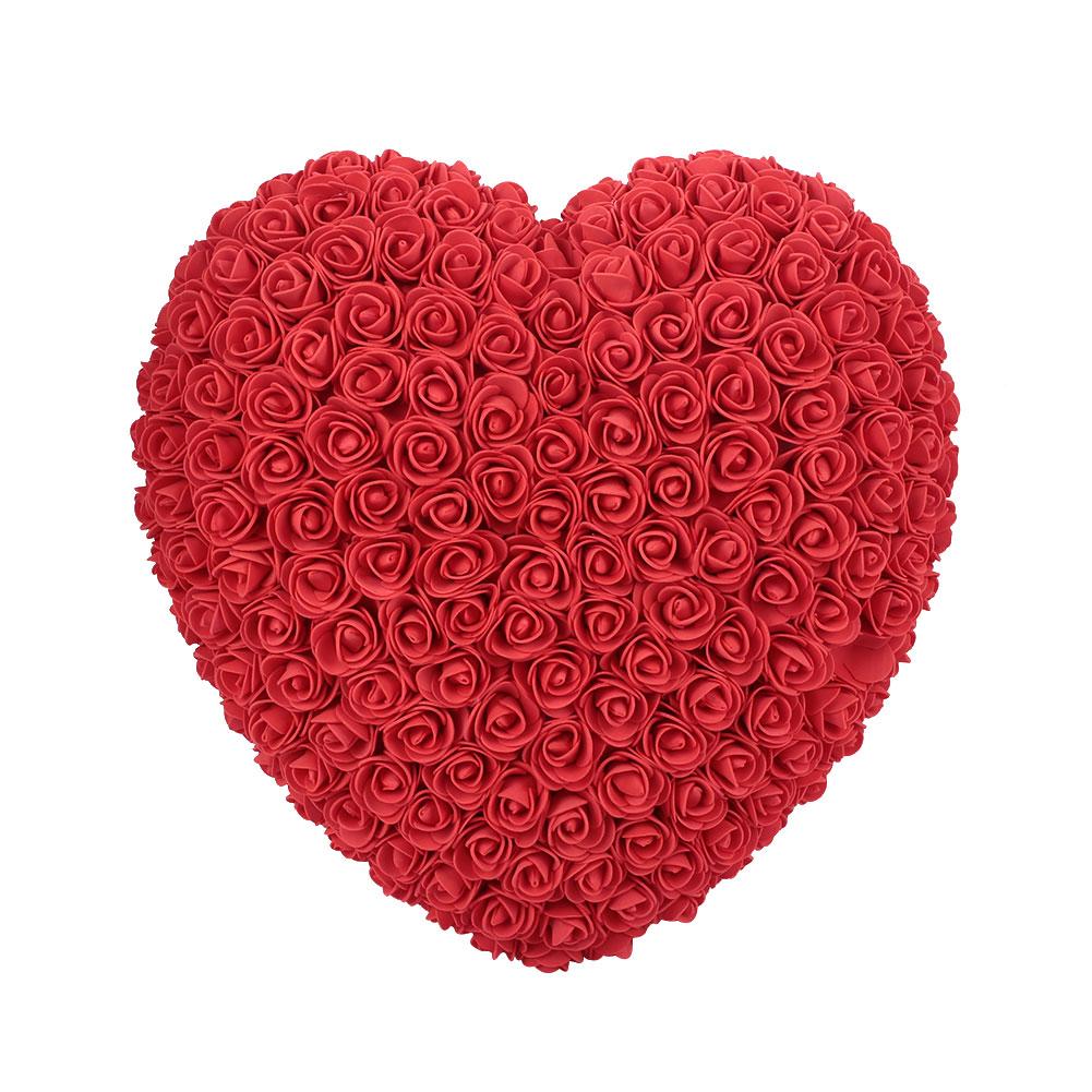 Украшения для свадебной вечеринки розовое большое сердце девушка юбилей пена Свадебный декор День Святого Валентина подарок на день рождения для ребенка - Цвет: Red