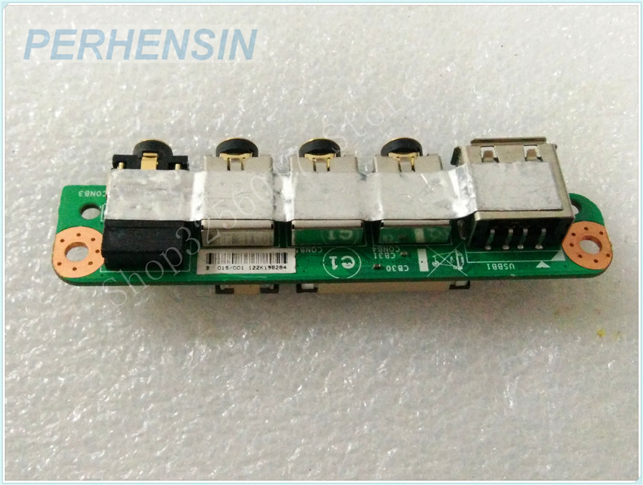 Original Genuine laptop FOR MSI FOR GT60 MS-16F3 MS-16F31 USB Audio I/O Port Board MS-16F3B