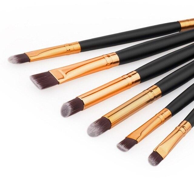 6 PCS Professional Makeup Cosmetics Brushes Eye Shadows Eyeliner Brush Tool Set Kit  SK88 3