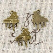 Grand Piano Tibetan Pendants Wholesale 12Pcs