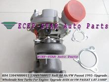 Free Ship Turbo K04 15 53049880015 53049700015 For AUDI A4 A6 For Volkswagen VW PASSAT AEB ANB APU AWT AVJ BEX 1.8T Upgrade 1.8L