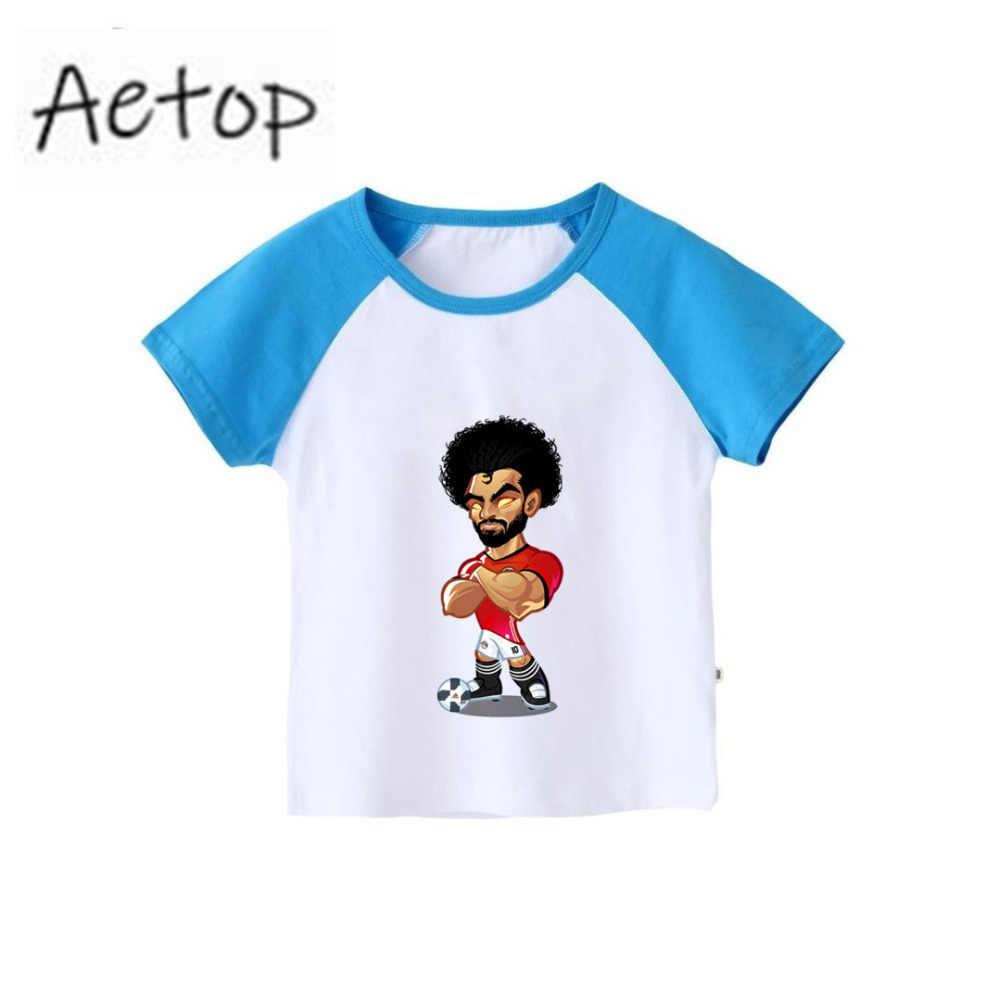2 T-12 T niños Messi fútbol camiseta niños de manga corta Camiseta niños ropa de verano tops de bebé camiseta niños ropa