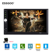 Essgoo 7 2 Din Car Radio Multimedia MP5 Player 7012B USB FM Autoradio Bluetooth Rear View Camera Mirror Link Auto Audio Stereo
