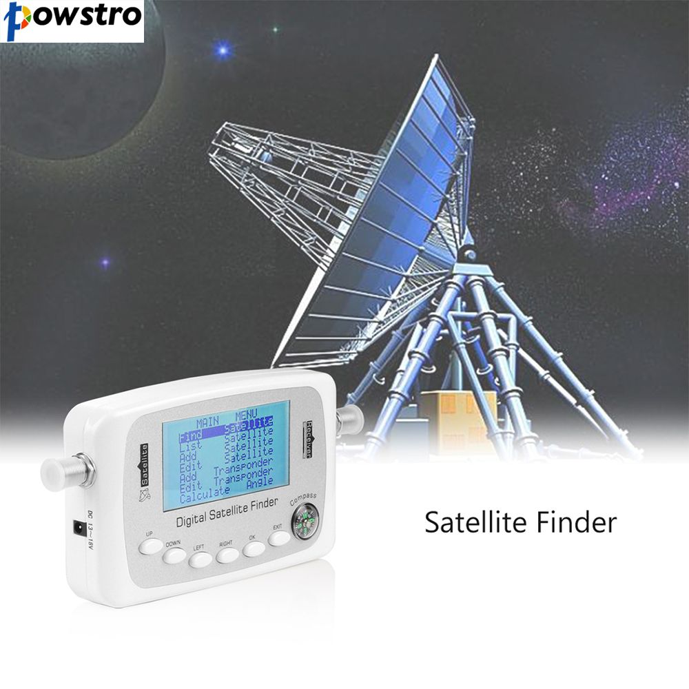 2017 New Digital Satellite Finder LCD display screen Signal Receiver Compass Satellite Finder