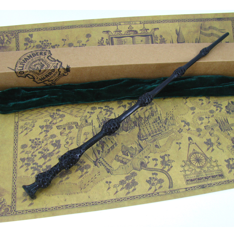 Harry potter the elder wand handmade wooden albus for Wooden elder wand