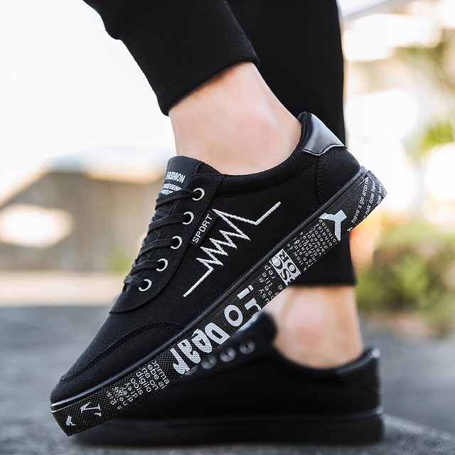 7c1e9872766e2 2018 New shoes men sneakers Summer Autumn chaussure homme Casual canvas  zapatos hombre Fashion Sport Korean mocassim masculino