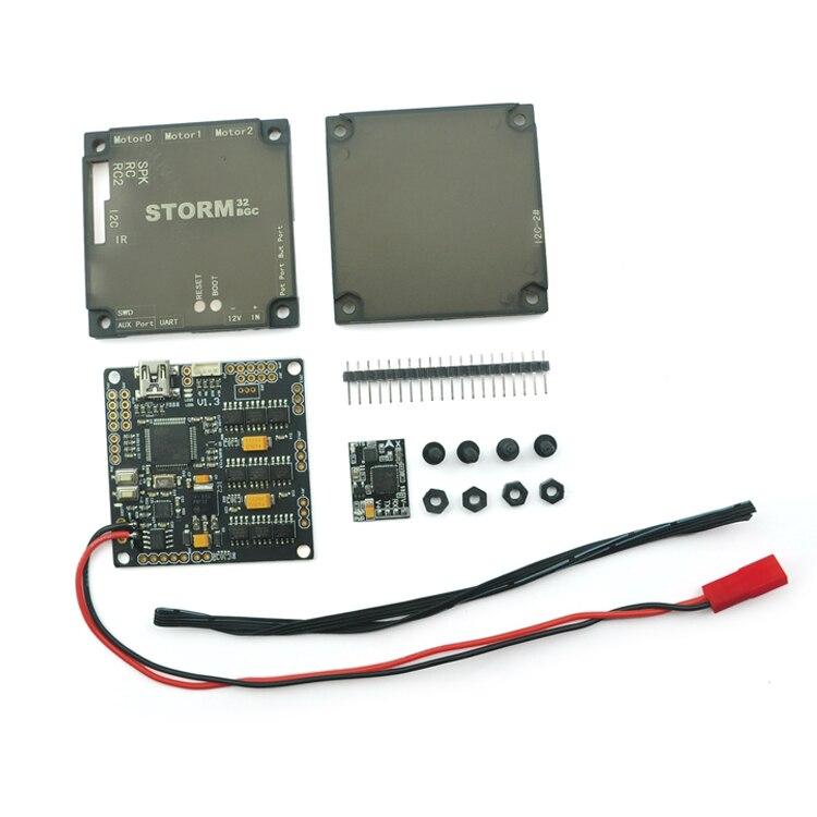 Nueva storm32bgcnt/storm32-bgc NT sin escobillas controlador con puerto serie IMU, evitar I2C problema, compatible v1.3 para FPV Gimbal
