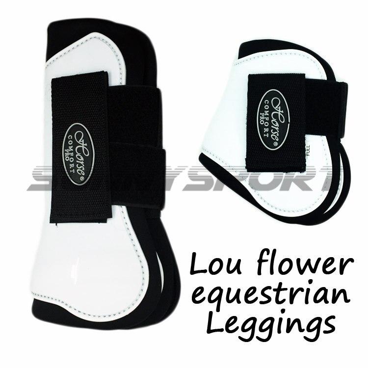 Le cheval avec un professionnel Équestre Cheval Cheval Leggings accessoires de protection avant et après le cheval remise