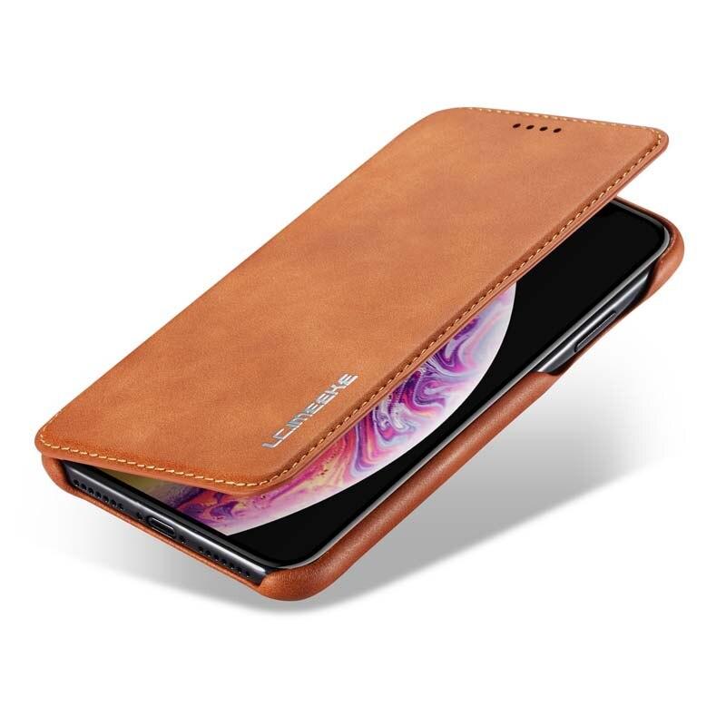 HTB1Ic bXZfrK1Rjy1Xdq6yemFXav Original Flip Wallet Leather Business Retro Book Design Magnetic For iphone XS Max XR XS X 6 6S 6Plus 7 8 7Plus 8Plus  JS0715