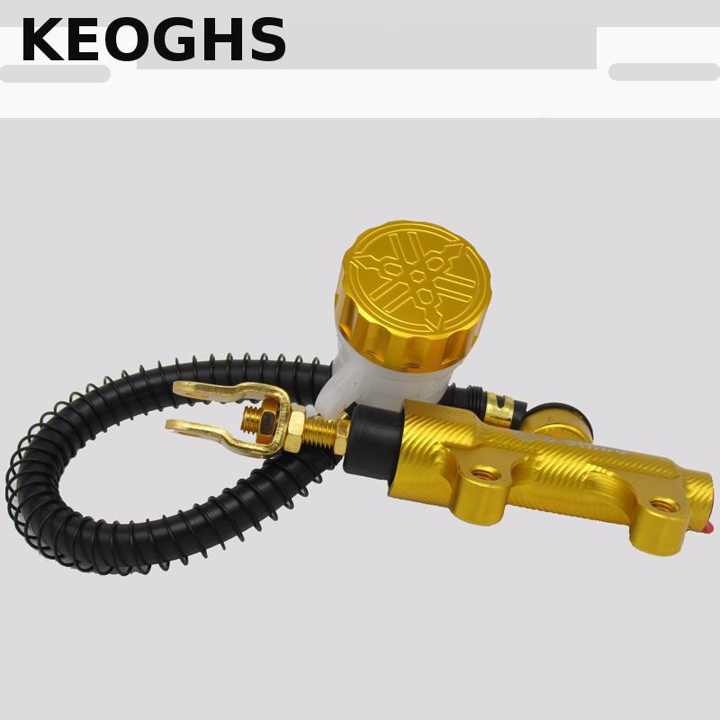 Keoghs Motorcycle Rear Brake Pumb/brake Master Cylinder High Quality Cnc Aluminum For All Yamaha Motorcycle Motorbike Model keoghs motorcycle high quality personality swingarm swinging arm rear fork all cnc for yamaha scooter bws cygnus honda modify