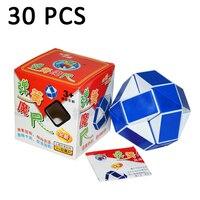 30 шт. Shengshou волшебный Линейка Куб странная форма Скорость твист головоломка магический куб головоломка куб Классические игрушки нео куб