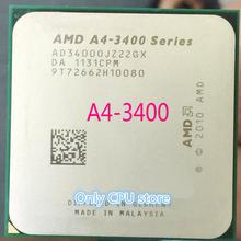 AMD A4 3400 Dual-core FM1 2,7 ГГц 1 МБ 65 Вт Процессор процессор штук A4-3400