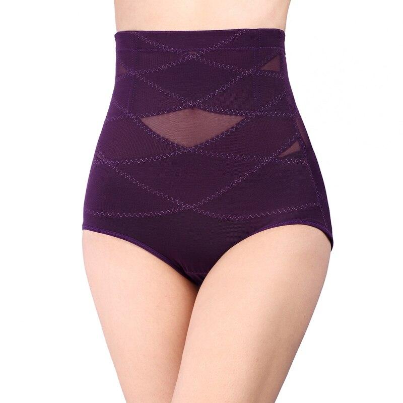 4bef6a61a5 Women High Waist Briefs Slimming Abdomen Cincher Underwear Hip Body Shaper  Corset Control Pants