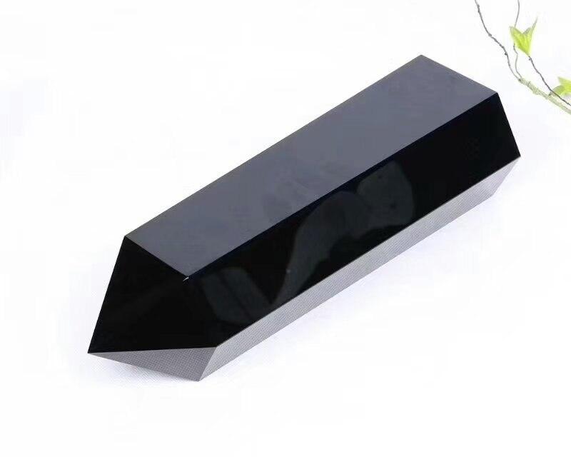 2500g (260*80mm) Natural obsidian Quartz Crystal wand2500g (260*80mm) Natural obsidian Quartz Crystal wand