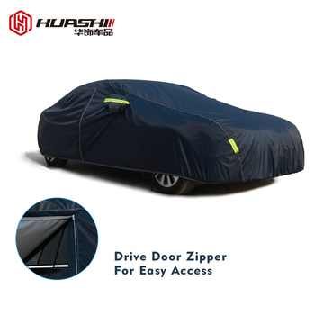 9 Size waterproof car covers outdoor sun protection cover for car reflector dust rain snow protective suv sedan hatchback full - DISCOUNT ITEM  34% OFF All Category