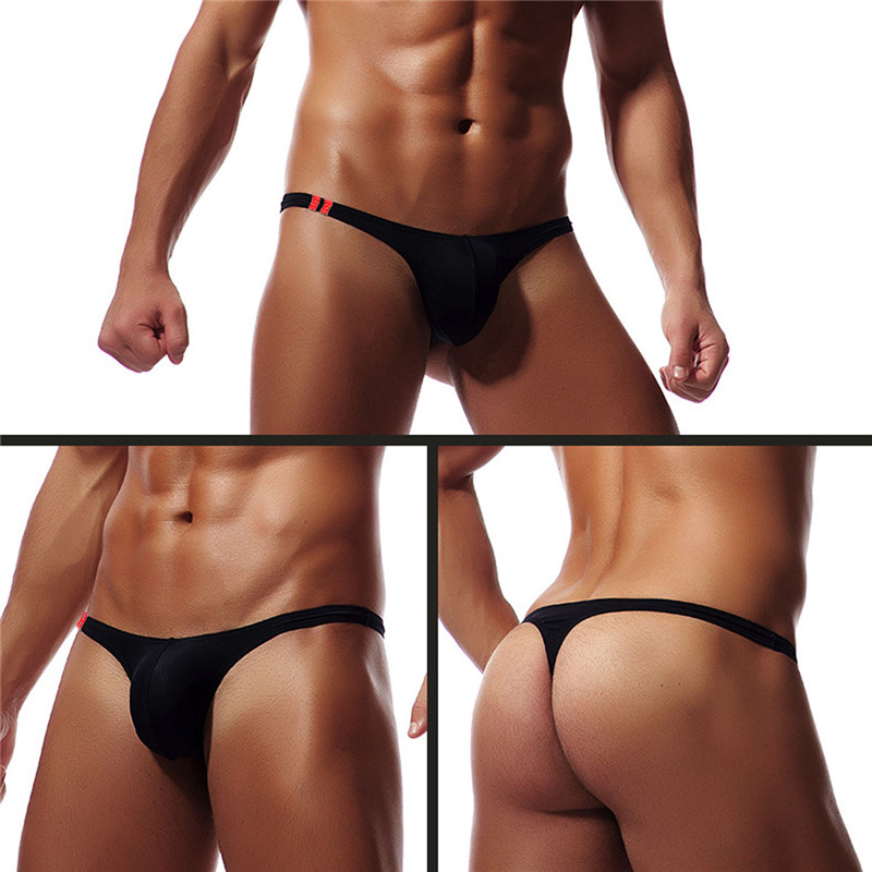 Mens Sexy Modal Underwear Briefs Men Low Rise U Convex Pouch Brief Underwear Men Stretch Breathable Briefs