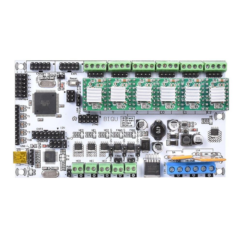 3D Printer Mainboard Rumba Motherboard MPU 3D Printer Accessories RUMBA Control Board Reprap A4988 DRV8825 Stepper