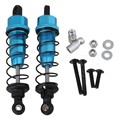 Mxfans 2pcs RC 1:10 Aluminum Alloy Shock Absorber for HPI WR8 FLUX Rally Car