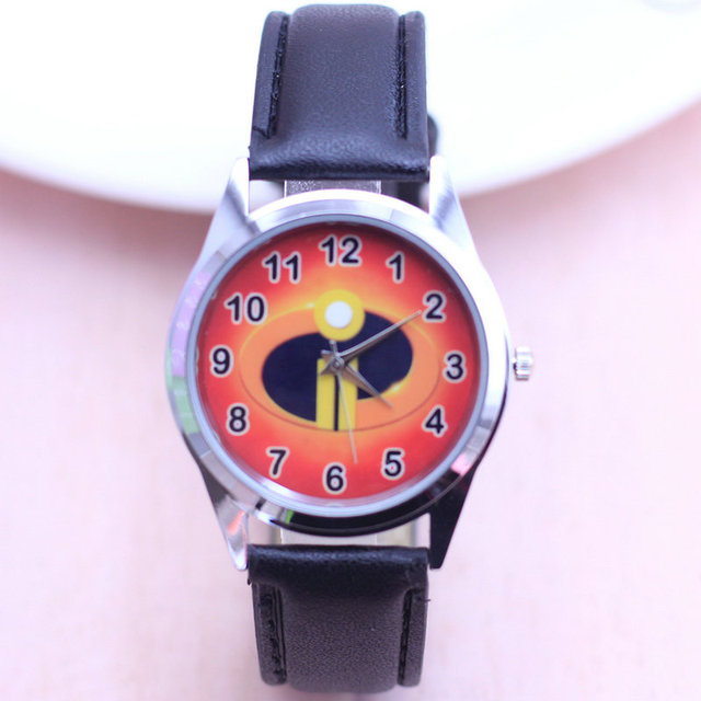 2018 The Incredibles cartoon children watches students kids wristwatch watches F