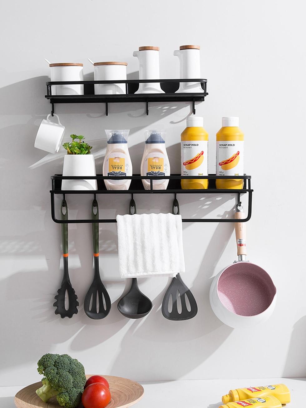 Kitchen Pantry Rack Shelf Cookware