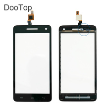 Explay Fresh Capactive LCD Touch screen Digitizer front glass replacement TouchScreen Black color Russian
