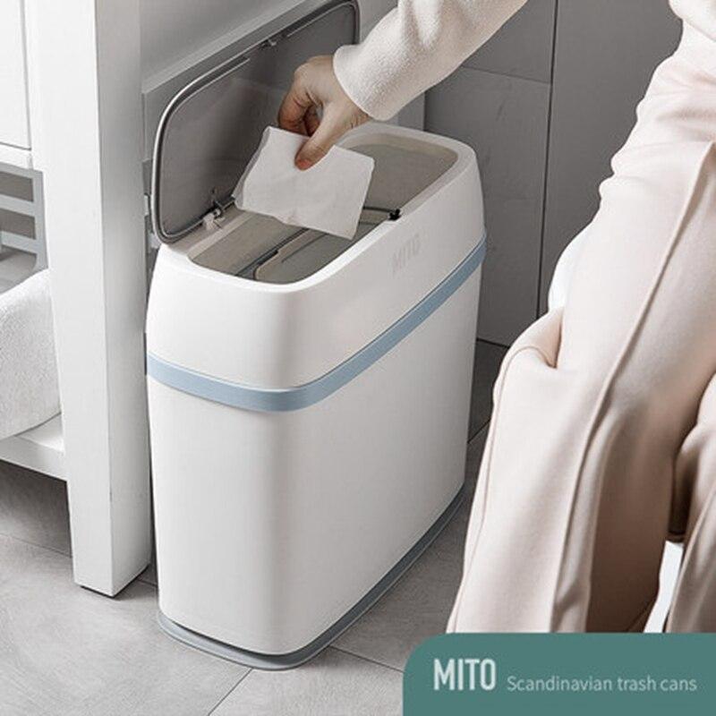 Salon chambre pressage Type poubelle cuisine salle de bains toilette salle de bains bureau papier panier Type européen poubelles