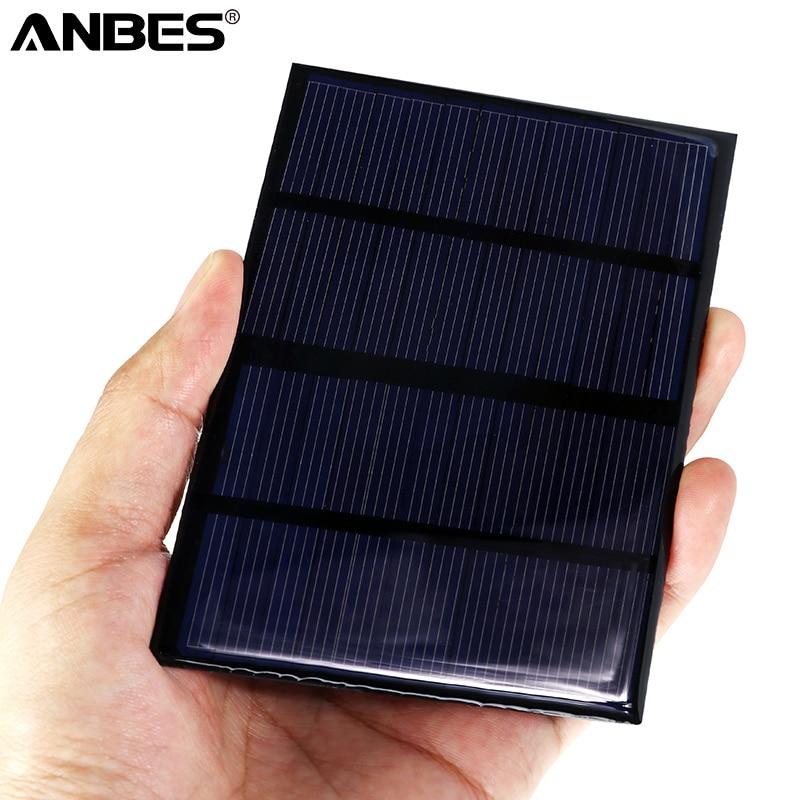 115x85mm Polycrystalline Silicon Solar DIY Solar Module 12V 1.5W Epoxy Solar Panels Mini Solar Cells
