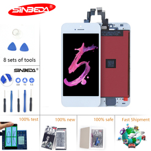 Sinbeda Screen For iPhone 5 C 5S  LCD Display Touch Screen Pantalla Digitizer Assembly Replacement for iPhone 5S Screen 5 5C LCD цена и фото