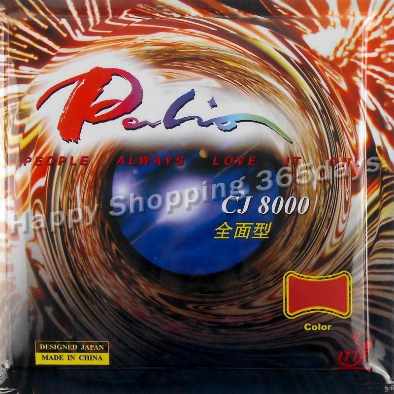 Original Palio CJ8000 (CJ 8000) seluruh jenis pips dalam tenis meja / pingpong getah dengan span