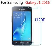 2.5d vidro temperado para samsung galaxy j1 j120f 2016 SM-J120F película protetora do telefone móvel para samsung j 120f 2016 j120f j120