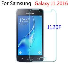 Image 1 - 2.5D vetro temperato per Samsung Galaxy J1 J120F 2016 SM J120F pellicola protettiva cellulare per Samsung J 120F 2016 J120F J120
