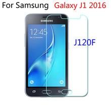 삼성 갤럭시 J1 j120f에 대 한 2016 d 강화 유리 삼성 J 120F 2016 J120F j120에 대 한 SM J120F 보호 필름 휴대 전화