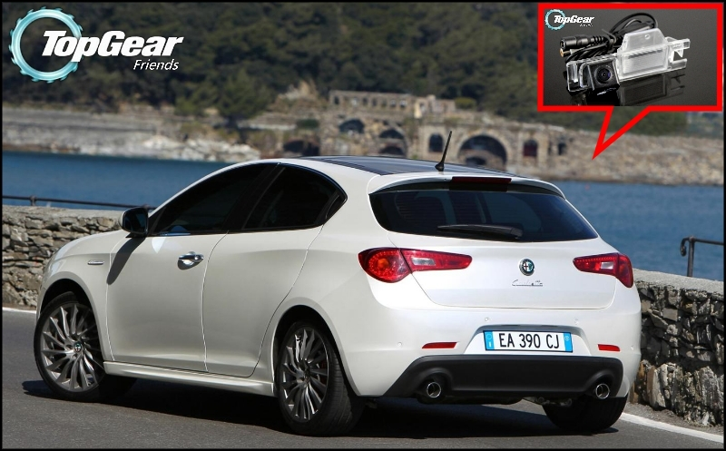 US $26 71 8% OFF Car Camera For Alfa Romeo Giulietta 940 High Quality Rear  View Back Up Camera For Top Gear   CCD with RCA-in Vehicle Camera from