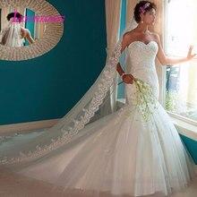 LEIYINXIANG 2019 Bride Dress Wedding Dress Backless